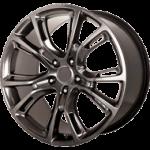 OE Wheels 22 Inch Fit Chevy Silverado Tahoe GMC Sierra Yukon Cadillac Escalade CV93 Hyper Black w/Chrome 22x9 Rims Hollander 5661 SET