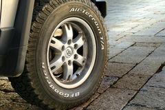 BF G oodrich tire brand