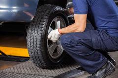 repairing run flat tire