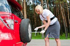 run flat tire repairing